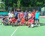 Torneio de Tênis de Casais no Clube