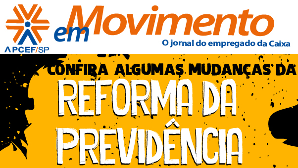Confira a edição n. 1.312 do jornal APCEF em Movimento