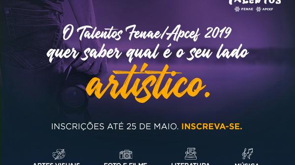 Talentos Fenae/Apcef recebe mais de 100 inscrições de obras