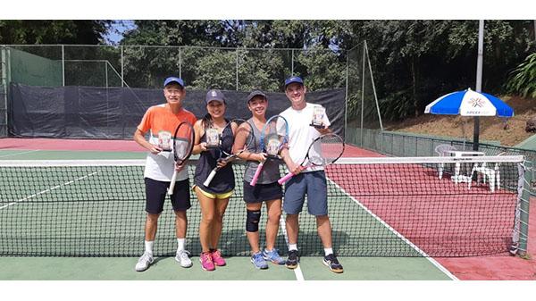 Torneio de Casais de Tênis de Quadra acaba com disputa acirrada