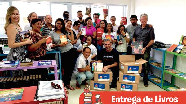 Instituições de Maceió recebem acervos literários com 500 obras