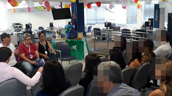 APCEF/SP e Sindicato se reúnem com empregados da SR Ipiranga
