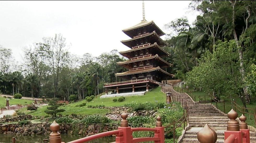 Templo e Sítio Nakahara são destinos do Passos da Cultura