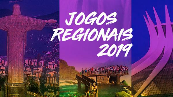 Jogos Regionais Sudeste acontecem de 20 a 23 de junho