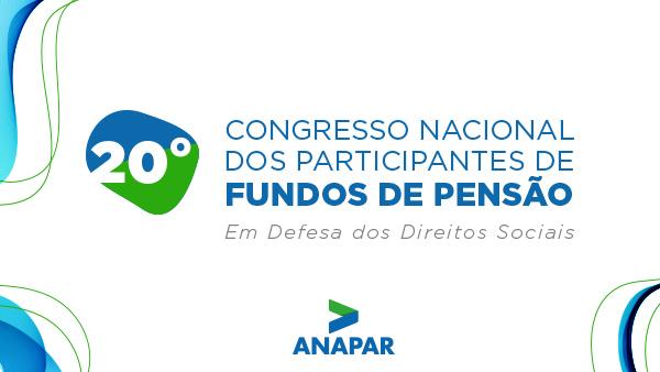 XX Congresso Anapar acontece nesta quinta-feira, dia 23