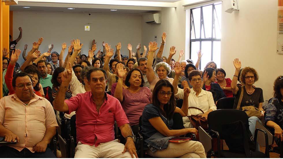 Assembleia escolhe aposentados para Congresso Estadual no dia 3