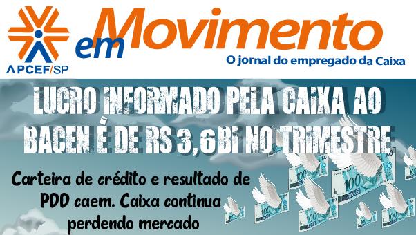 Confira a edição n. 1.320 do jornal APCEF em Movimento
