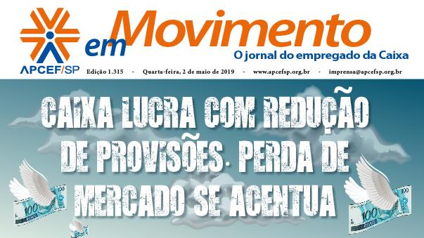 Confira a edição n. 1.323 do jornal APCEF em Movimento