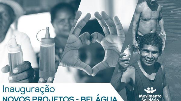 Novos projetos do Movimento Solidário serão inaugurados em Belágua neste sábado