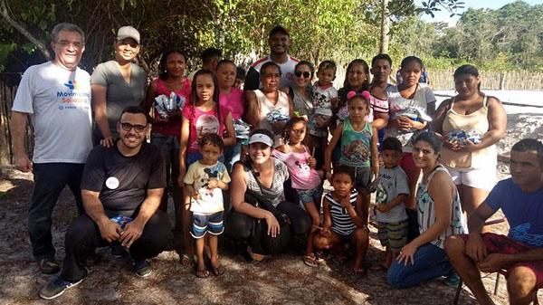 Movimento Solidário muda realidades em Belágua (MA)