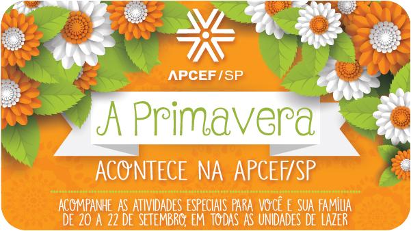 Primavera na APCEF: tempo de despertar e florescer