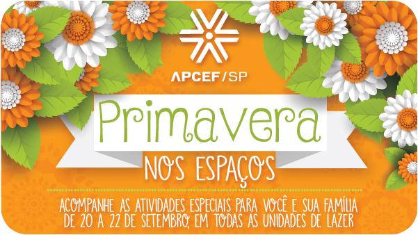 Primavera na APCEF: momento de despertar e florescer