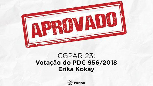 CCJC aprova PDC que susta efeitos da CGPAR 23