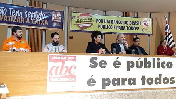 De cada R$ 10 de crédito em São Bernardo R$ 9 vieram da Caixa e do BB