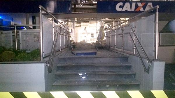 Explosão de agência em Limeira: exemplo da importância da CCASP