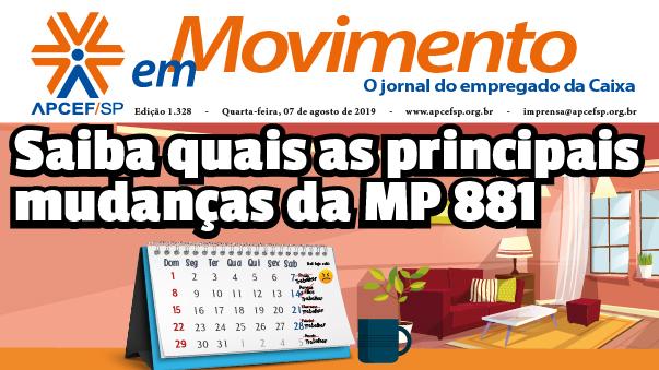 Confira a edição n. 1.330 do jornal APCEF em Movimento