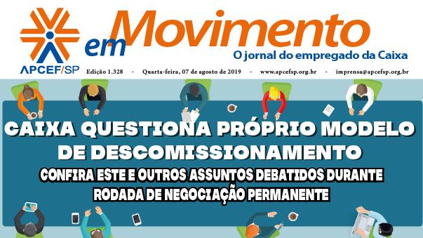 Confira a edição n. 1.331 do jornal APCEF em Movimento