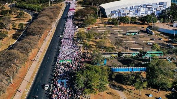 Marcha das Margaridas evidencia a força da mulher brasileira