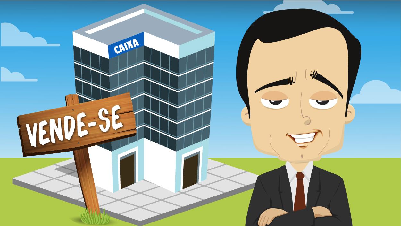 Guimarães faz propaganda da venda de ativos em transmissão de vídeo aos empregados