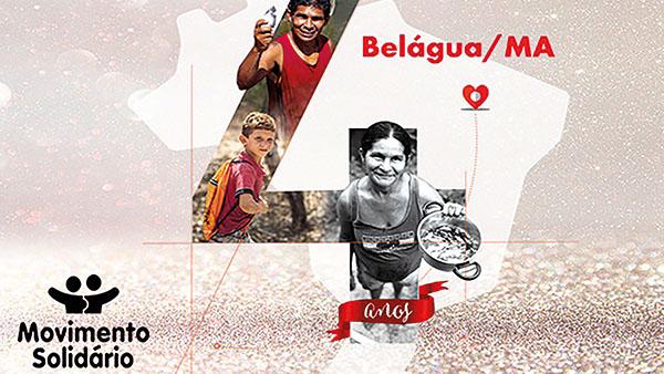 Belágua: empregados da Caixa doam esperança e mudam vidas
