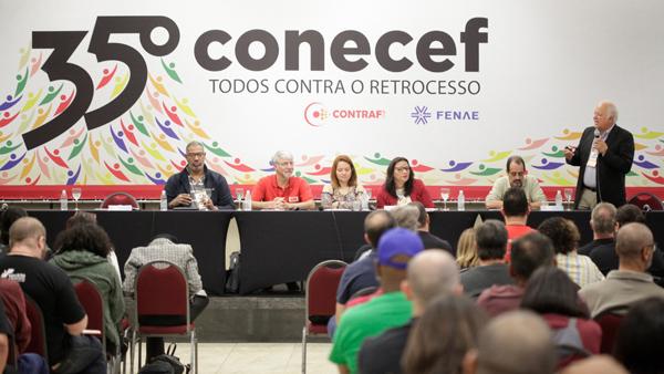 Anapar participa do 35º Conecef e do 30º CNFBB