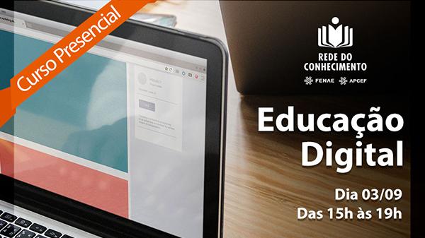 Inscreva-se no curso gratuito de educação digital da APCEF/SP