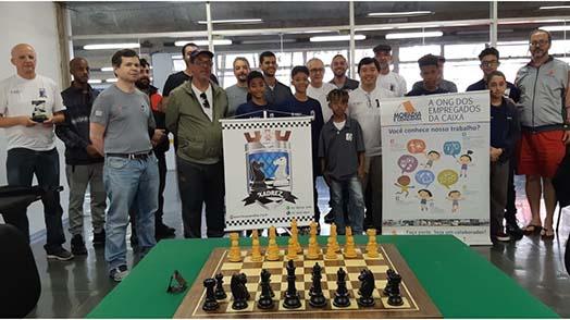 Xadrez: fim de semana de muito raciocínio no clube da APCEF/SP