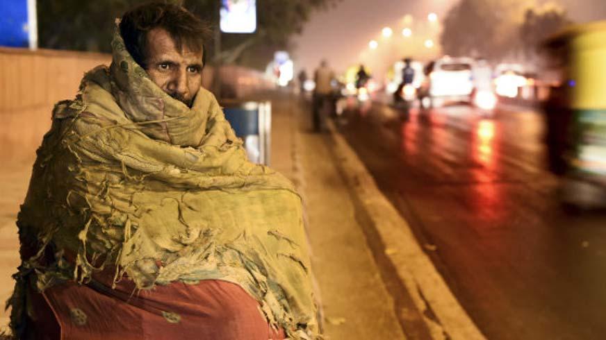Campanha da ONG: o inverno ainda não acabou