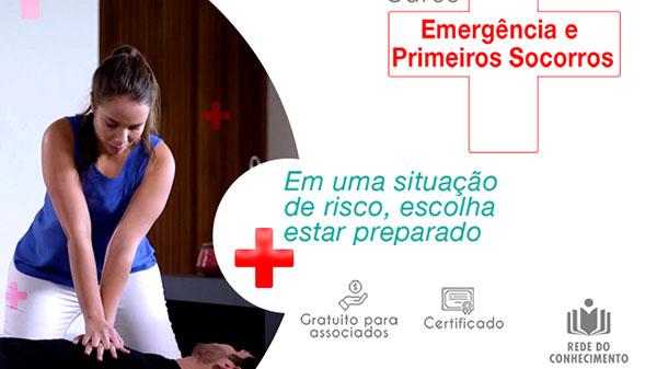 Rede do Conhecimento oferece curso de Primeiros Socorros