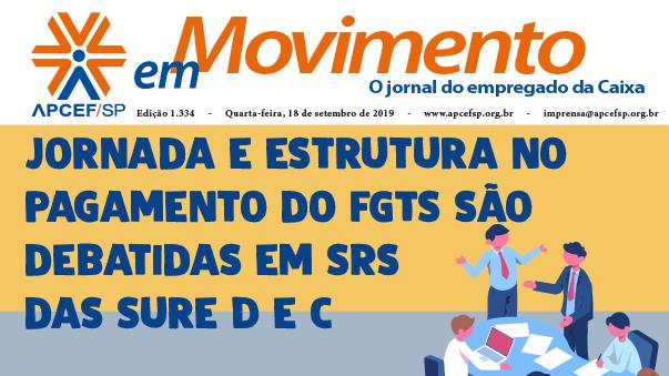 Confira a edição n. 1.334 do jornal APCEF em Movimento