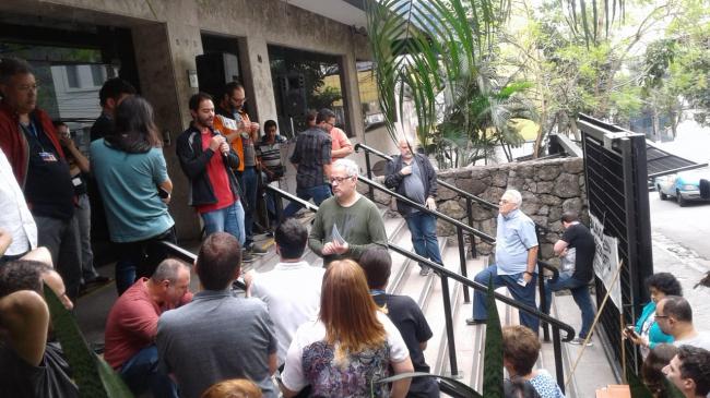 Mobilização pelo FGTS segue durante a tarde