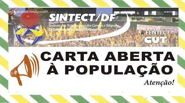 Contra privatização, empregados dos Correios se mobilizam pela renovação do Acordo Coletivo