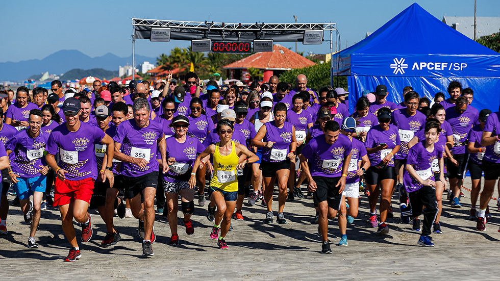Dia 27 de outubro tem Circuito Ubatuba Beach Run, na Praia de Perequê-açú