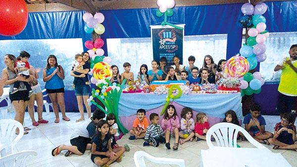 Comemore o Dia das Crianças nas Colônias da APCEF