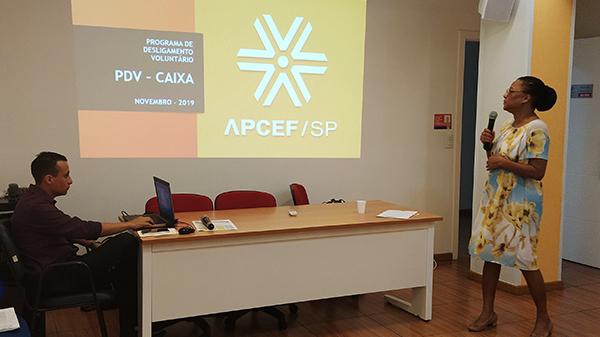 Assista à palestra sobre o novo PDV ocorrida na APCEF/SP