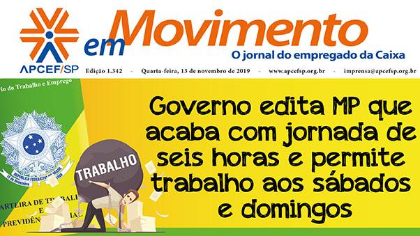 Confira a edição n. 1.342 do jornal APCEF em Movimento