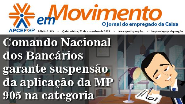 Confira a edição n. 1.343 do jornal APCEF em Movimento