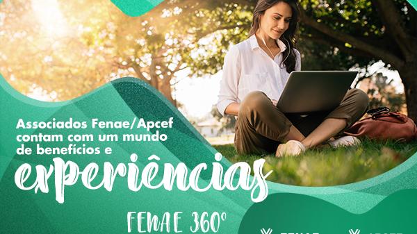 Fenae 360°: viva a experiência e concorra a prêmios