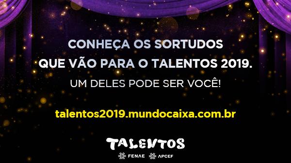 Talentos 2019: saiu o resultado da campanha de mais curtidas, veja se você foi contemplado!