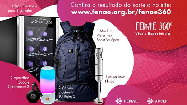 Campanha Fenae 360° já tem os primeiros ganhadores