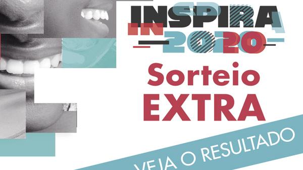 Mais 61 associados foram sorteados para participar do Inspira 2020