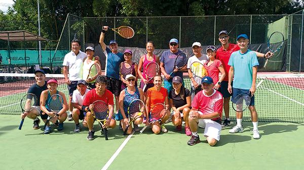 Clube será palco de Festival de Duplas Mistas de Tênis