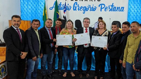 Belágua (MA) homenageia Fenae por resultados do Movimento Solidário