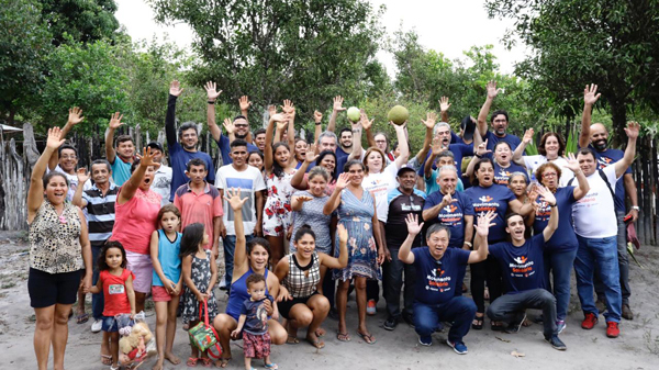Comunidade Santana comemora com emoção e alegria inauguração de banheiros