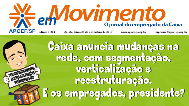 Confira a edição n. 1.345 do jornal APCEF em Movimento