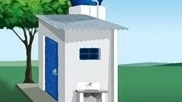 Movimento Solidário entrega banheiros em Belágua