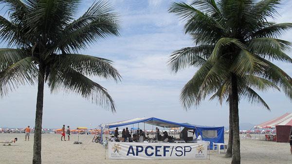 Terá música na Praia do Gonzaga na virada do ano em Santos