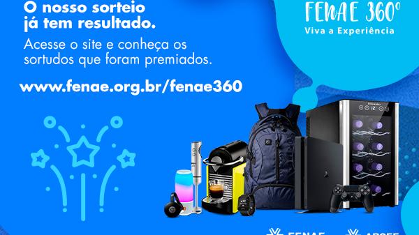 Fenae 360: saiu o resultado do 4º sorteio. Confira se você é um dos felizardos!