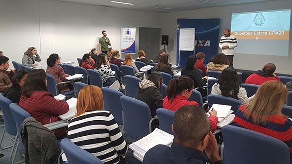 Fenae e APCEF/SP promovem curso de CPA-20 na SR Santana