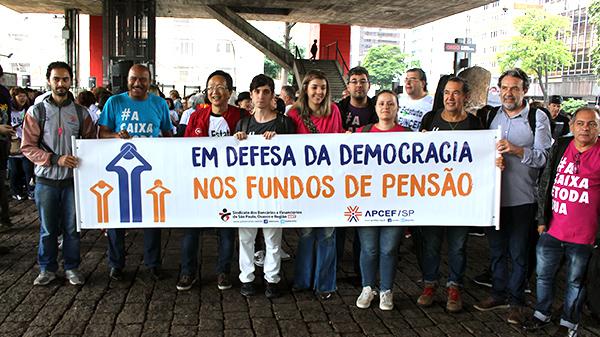 Participantes da Funcef se unem em atos contra mudança no Estatuto